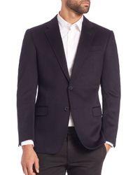 Armani - Black Cashmere Sportcoat for Men - Lyst