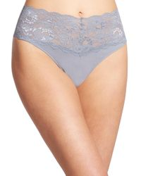 Cosabella - Gray Never Say Never Thong - Lyst