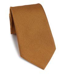 Ike Behar | Metallic Textured Silk Tie for Men | Lyst