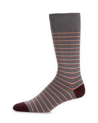 Paul Smith - Purple Striped Socks for Men - Lyst