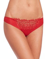 La Perla | Red Macrame-detail Thong | Lyst