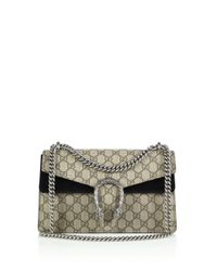 Gucci | Natural Dionysus Gg Supreme Small Coated Canvas Shoulder Bag | Lyst