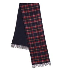 Saks Fifth Avenue | Blue Merino Wool & Cashmere Scarf for Men | Lyst