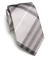 Burberry | Gray Manston Tie for Men | Lyst