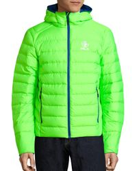 Polo Ralph Lauren   Green Explorer Quilted Safety Jacket for Men   Lyst
