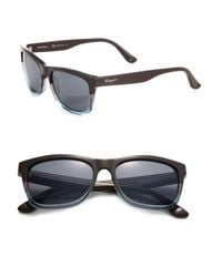 Ferragamo - Blue 55mm Square Sunglasses for Men - Lyst
