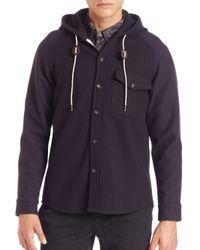 Billy Reid | Blue Ray Jacket for Men | Lyst