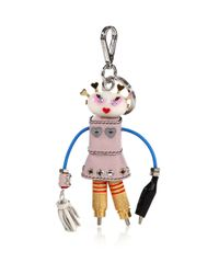 Prada   Multicolor Cheer Robot Keychain for Men   Lyst