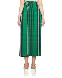 Stella McCartney - Green Check Harem Pants - Lyst