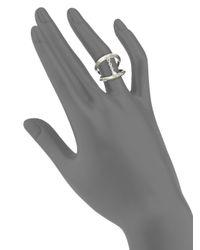 Pamela Love - Metallic Suspension Sterling Silver Ring - Lyst