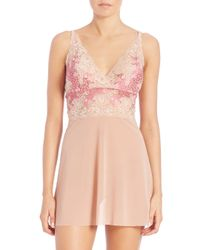 Hanky Panky | Pink Cross-dyed Luscious Rose Chemise | Lyst