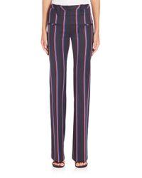 Altuzarra - Blue Serge Striped Pants - Lyst
