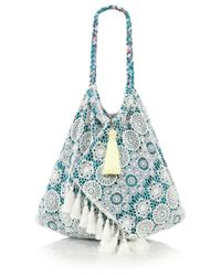 6 Shore Road By Pooja - Blue Sunset Cotton Beach Bag - Lyst