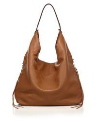 Rebecca Minkoff | Brown Bryn Double-zip Leather Hobo Bag | Lyst