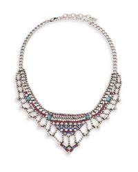 DANNIJO - Multicolor Rafaella Necklace - Lyst