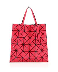 Bao Bao Issey Miyake - Red Bao Bao Rock Lucent Frost Tote - Lyst