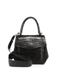 Nancy Gonzalez - Linda Crocodile Bag, Black - Lyst