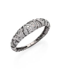Adriana Orsini | Metallic Vivienne Crystal Bangle | Lyst