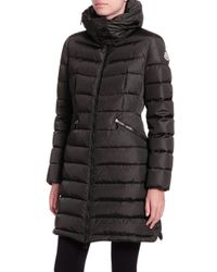 Moncler | Brown Down Jacket | Lyst