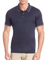 Theory - Black Boyd Tc Tertiary Polo for Men - Lyst