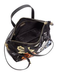 Prada - Black Tessuto Hawaii Nylon Tote - Lyst