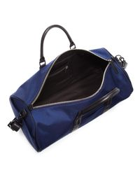 Uri Minkoff - Blue Large Nylon Duffle Bag for Men - Lyst