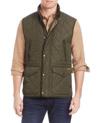 Polo Ralph Lauren | Blue Quilted Sleeveless Vest for Men | Lyst