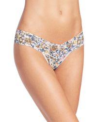 Hanky Panky - Multicolor Vintage Blossom Low-rise Thong - Lyst