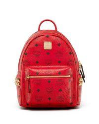 MCM | Multicolor Stark Mini Coated Canvas Backpack | Lyst
