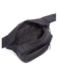Y-3 - Black Solid Fanny Bag for Men - Lyst