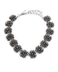 Oscar de la Renta | Metallic Firework Crystal Necklace | Lyst