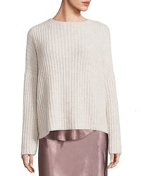 VINCE | Multicolor Ladder Stitch Cashmere Blend Sweater | Lyst