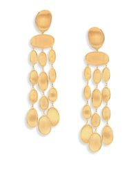 Marco Bicego | Metallic Lunaria 18k Yellow Gold Chandelier Earrings | Lyst