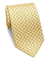 Ferragamo | Yellow Ladybug Silk Tie for Men | Lyst