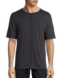 BLK DNM - Black Inside-out Solid Tee for Men - Lyst
