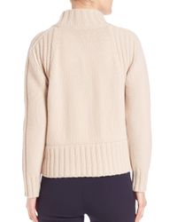 Weekend by Maxmara - Black Dingo Virgin Wool Cable-knit Sweater - Lyst