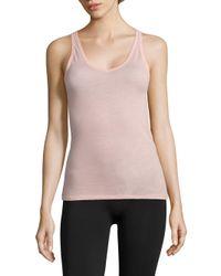 Skin | Pink Easy Organic Pima Cotton Tank Top | Lyst