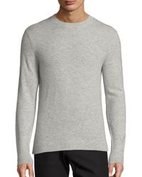 Theory | Gray Donners Cashmere Sweater for Men | Lyst