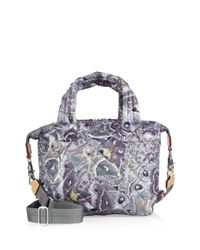 MZ Wallace | Multicolor Small Sutton Luna Oxford Quilted Nylon Duffle Bag | Lyst