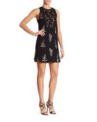 Giambattista Valli   Black Floral Shift Dress   Lyst