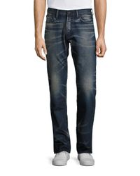 PRPS   Blue Straight Fit Five Pocket Heavy Jean for Men   Lyst