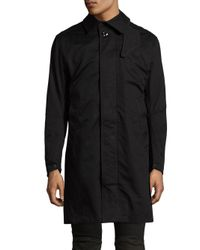 G-Star RAW   Black James Trench Coat for Men   Lyst