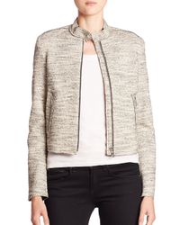 Theory - Multicolor Bavewick J Moto Jacket - Lyst