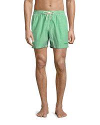 Barbour | Green Milton Swim Shorts for Men | Lyst