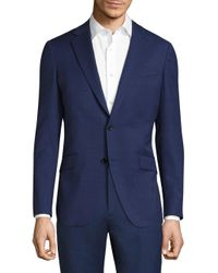 Theory | Blue Malcolm Heiron Slim-fit Wool Jacket for Men | Lyst