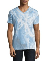 Sol Angeles | Blue Whirlpool Printed Tee for Men | Lyst