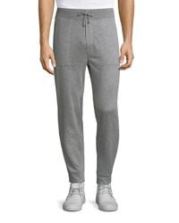 Polo Ralph Lauren | Gray Pima Cotton Heathered Jogger Pants for Men | Lyst