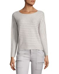 Joie | Gray Cashmere Blend Kerenza Sweater | Lyst