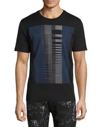 Diesel Black Gold | Black Ty Graphic Cotton Tee for Men | Lyst