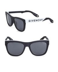 Givenchy - Black 52mm Tinted Aviator Frame for Men - Lyst